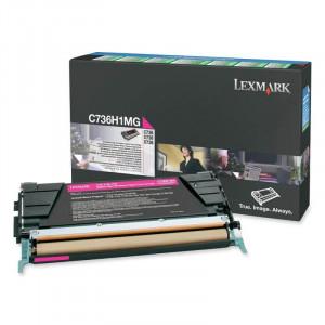 Toner Original Lexmark C736 C736H1MG Em até 12x Sem Juros – Link Toner