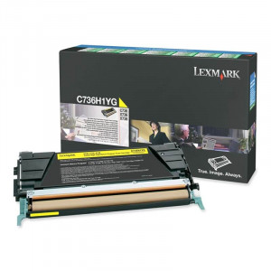 Toner Original Lexmark C736 C736H1YG Em até 12x Sem Juros – Link Toner
