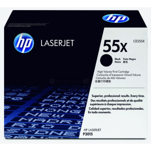 HP 3015 Toner Cartucho Original CE255X - HP 55X
