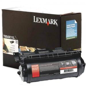Toner Lexmark T654X11L / T654X11B Cartucho T654 Original