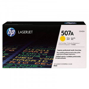 HP 507A Yellow Toner HP Original Amarelo CE402A M575f