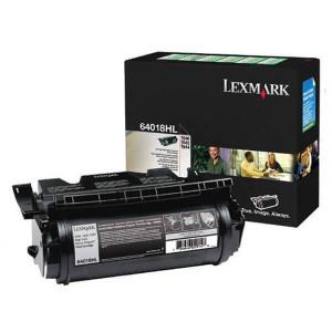 Toner Original T642 Preto – 64018HL / 64018HB Lexmark