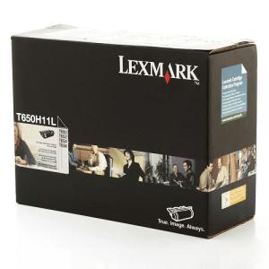 Toner T652 Lexmark Original Preto – T650H11L / T650H11B
