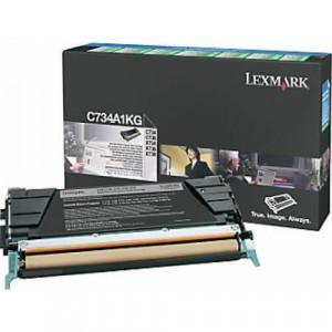 Toner Original C734 Preto – C734A1KG Lexmark