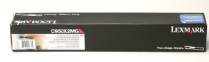 C950X2MG Original - Toner Lexmark Magenta C950 Em até 12x Sem Juros – Link Toner